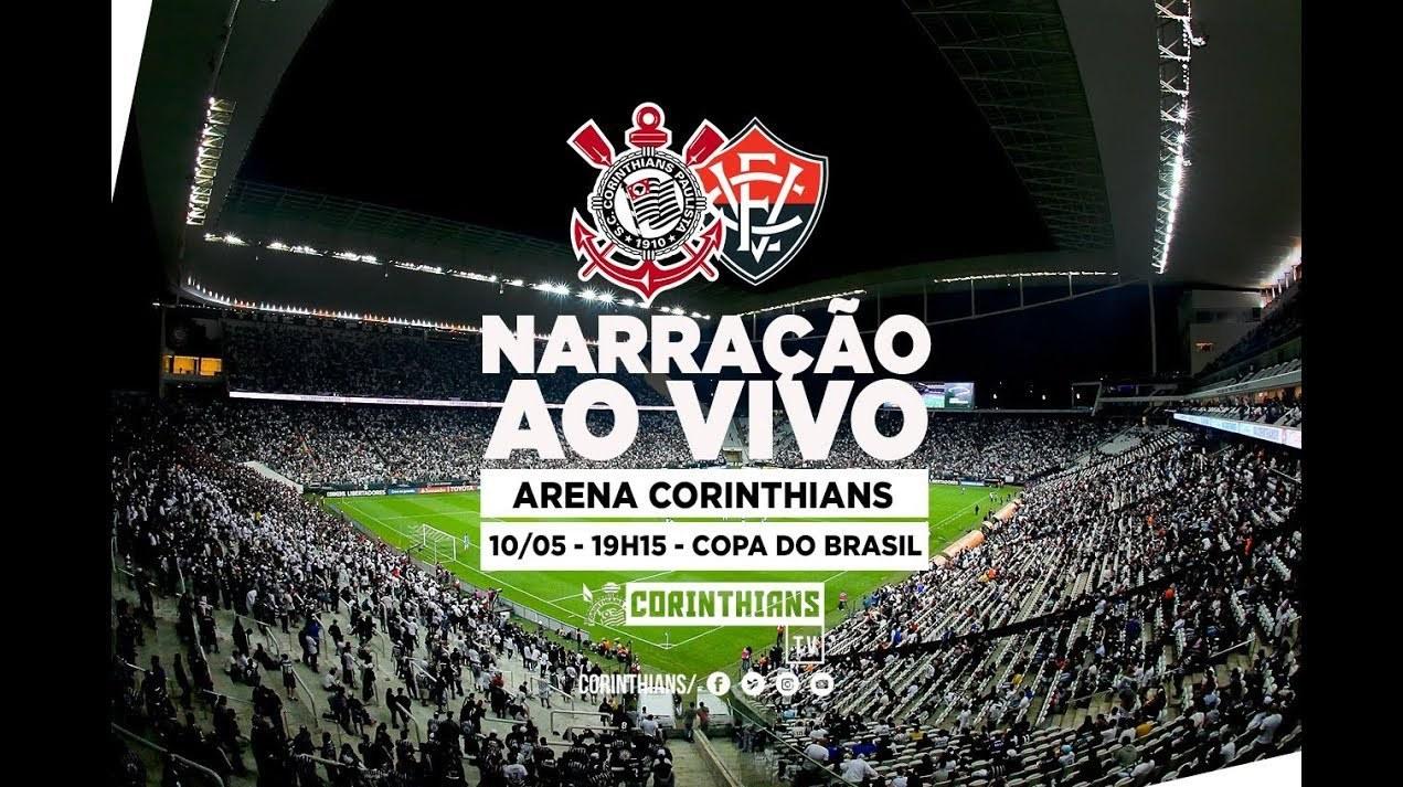 Corinthians 3x1 Vitória - Copa do Brasil 2018