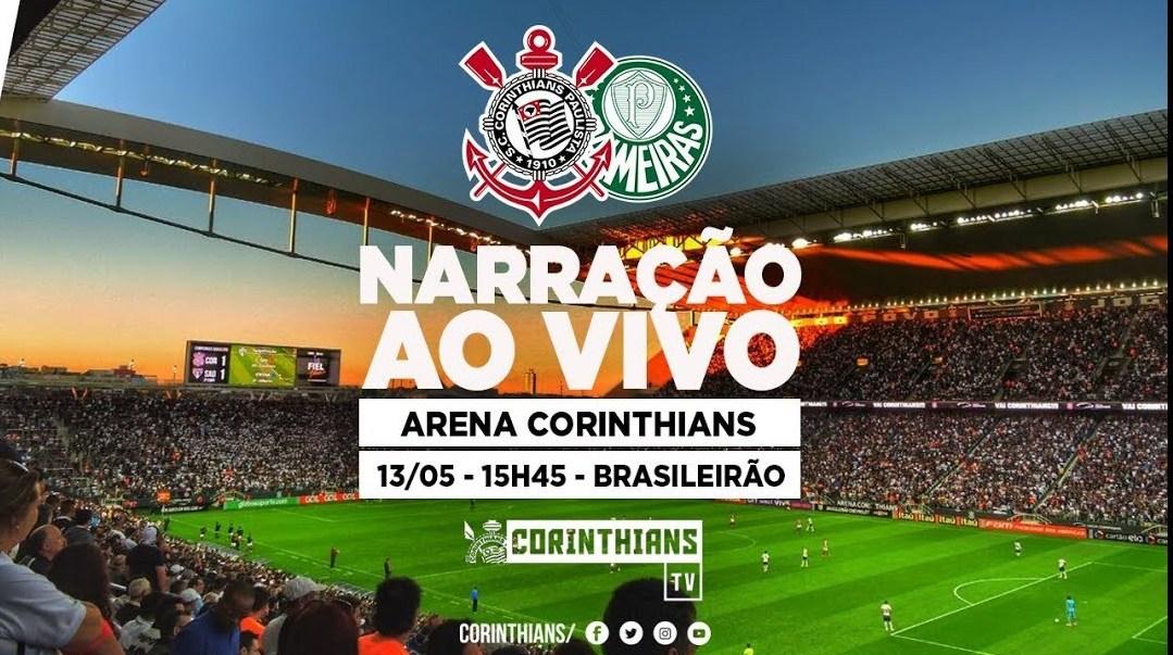 Corinthians 1x0 Palmeiras - Brasileirão 2018
