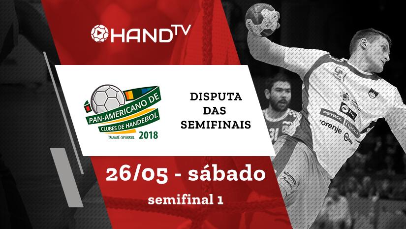 Taubaté vs Ferro Carril | Semifinal 1 | Pan-Americano de Handebol