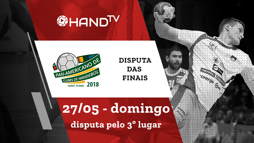 Pinheiros vs Ferro Carril | Disputa pelo 3º lugar | Pan-Americano de Handebol