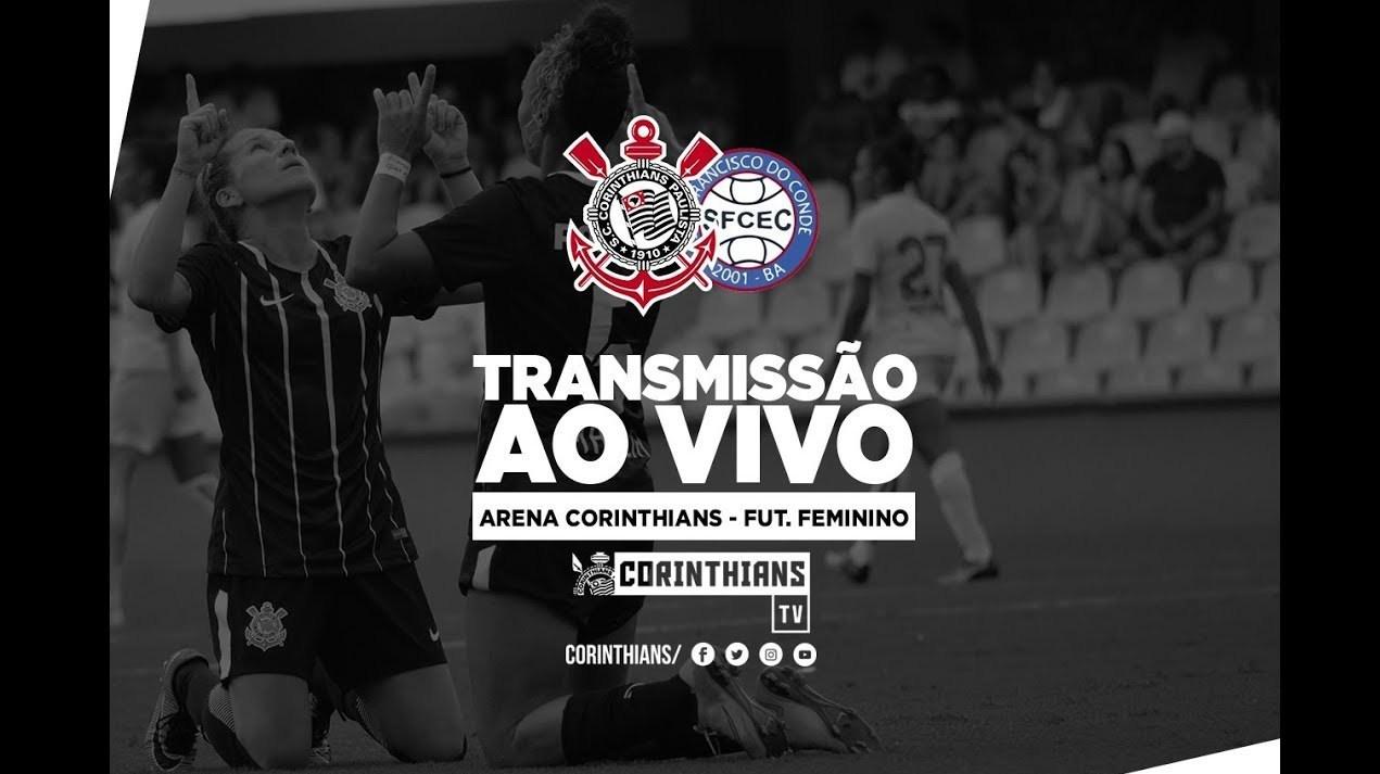 Corinthians 4x1 São Francisco - Brasileirão Feminino 2018