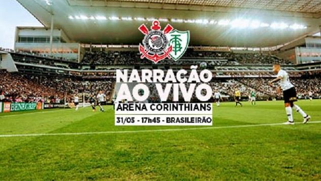 Narração | Corinthians x América-MG - Brasileirão 2018