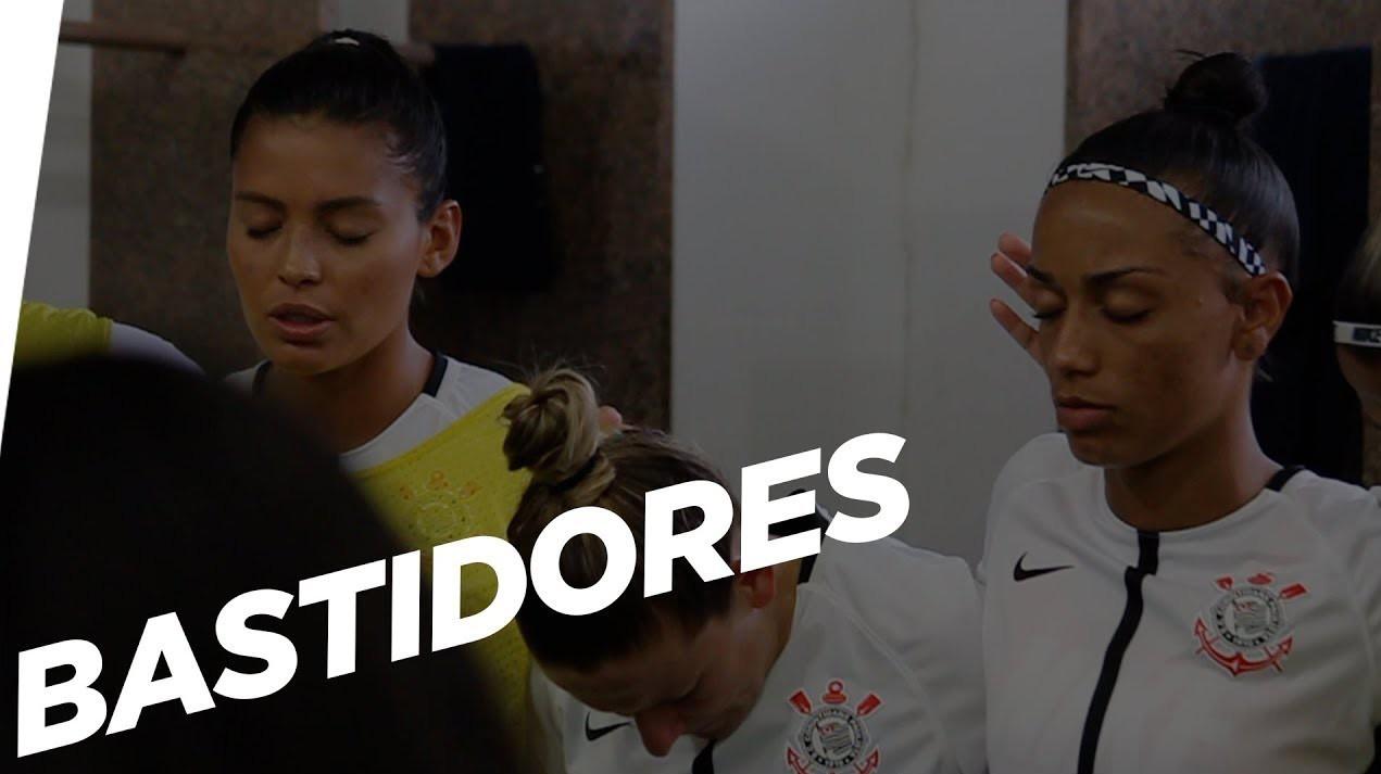 Bastidores - Corinthians 2x0 São José - Campeonato Paulista Feminino 2018