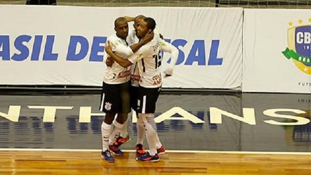 Gols - Corinthians 5x0 Tupi - Copa do Brasil de futsal