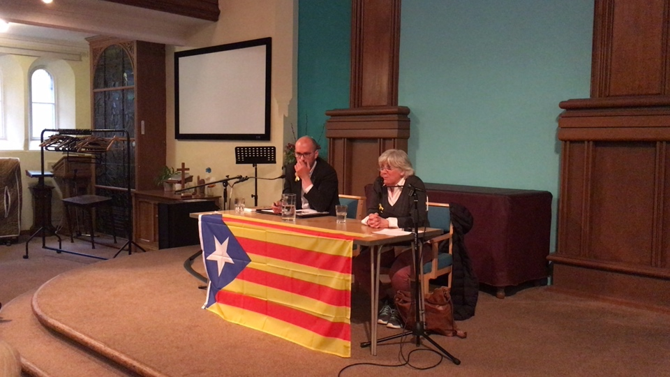 Clara Ponsatí speaks about the Catalan Independence Movement