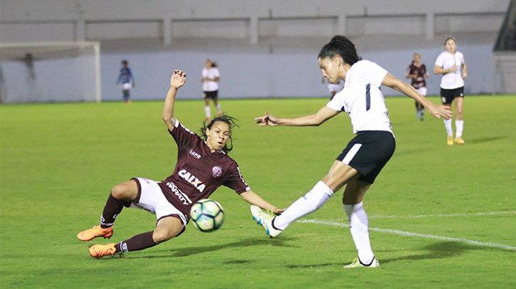 Gols - Ferroviária 3x5 Corinthians - Brasileirão Feminino 2018 ... af49fba451