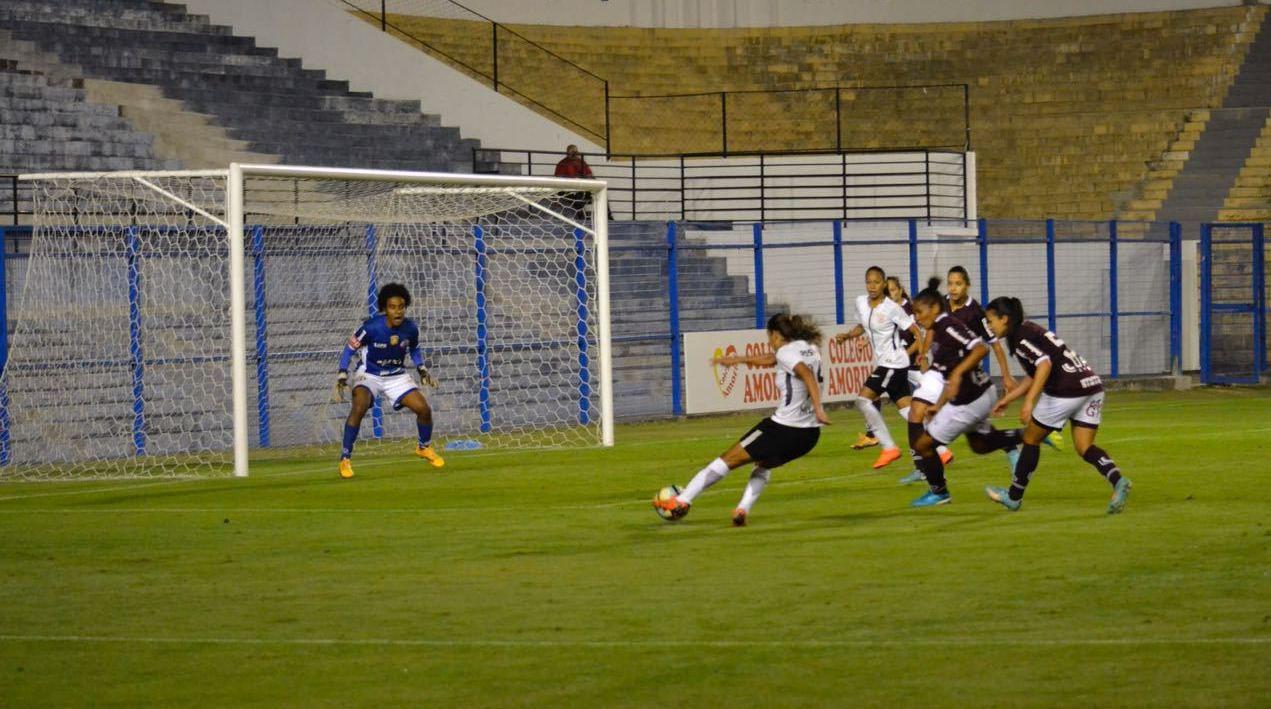 Gol - Corinthians 1x0 Ferroviária - Brasileirão Feminino 2018