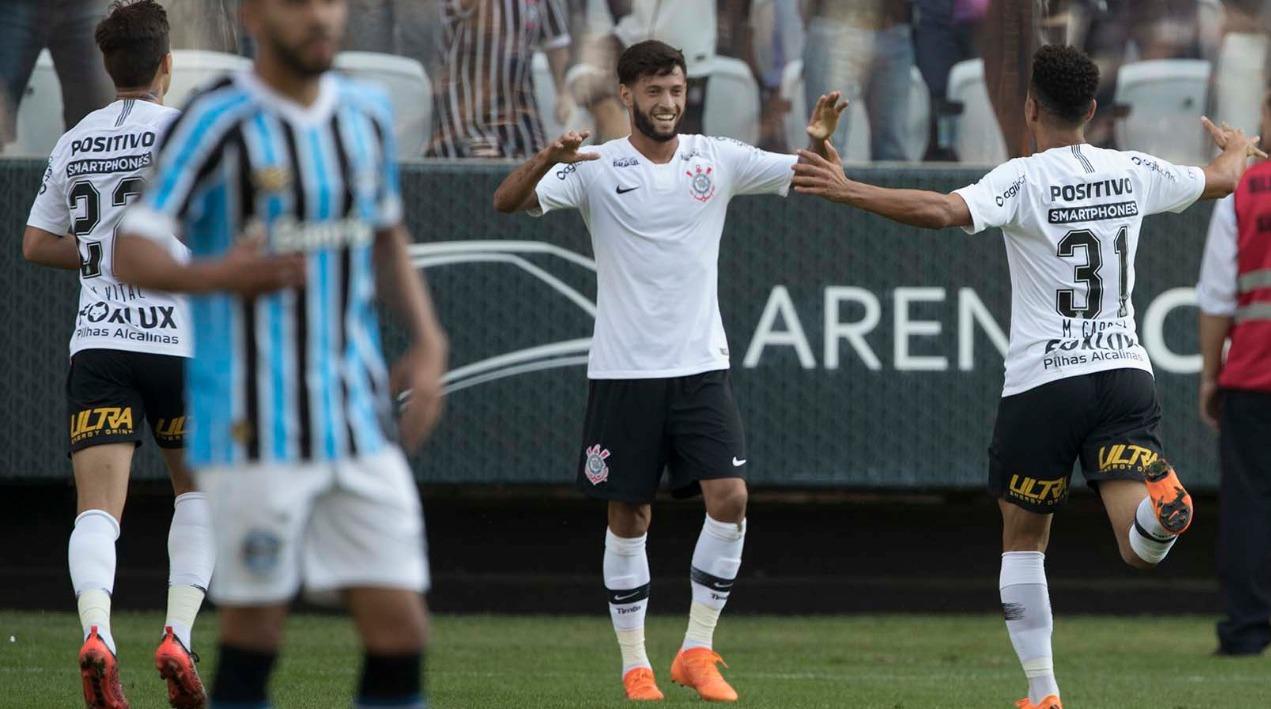 Gols - Corinthians 2x1 Grêmio - Amistoso 2018