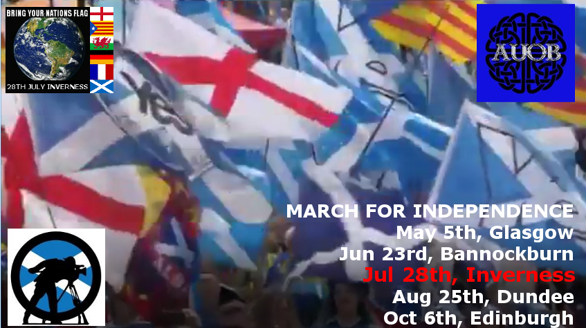 March and rally for Independence, Inverness