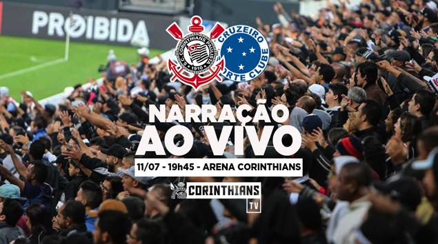 Narração | Corinthians x Cruzeiro - Amistoso 2018