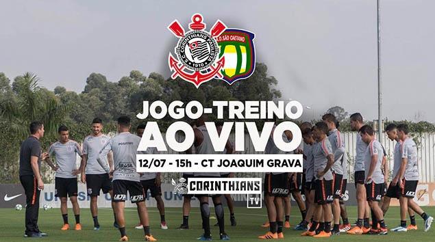 Corinthians x São Caetano - Jogo-treino no CT