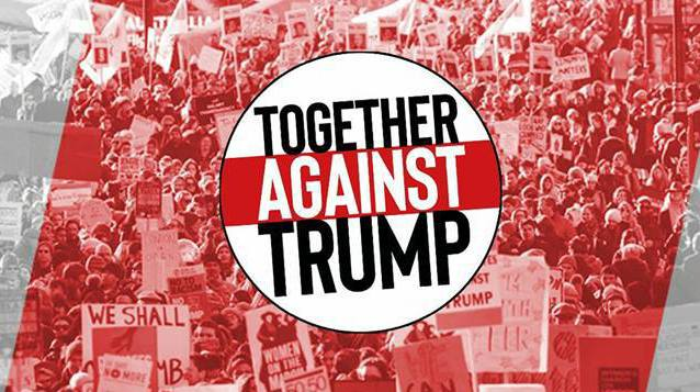 Together Against Trump- Dundee