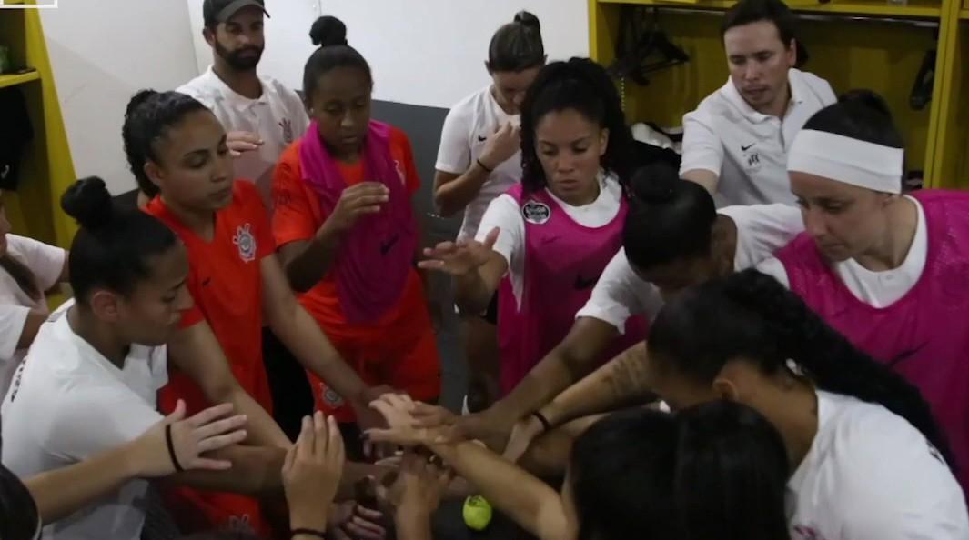 Bastidores - Corinthians 6x1 Pinheirense - Brasileirão Feminino 2018