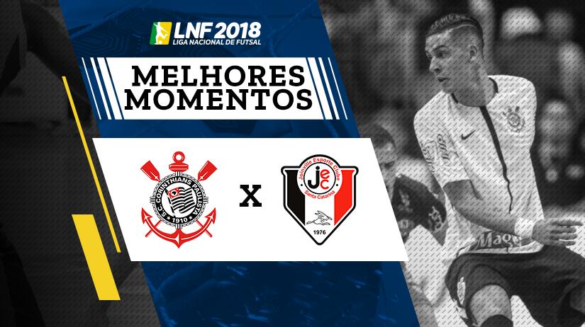 Melhores Momentos de Corinthians vs Joinville
