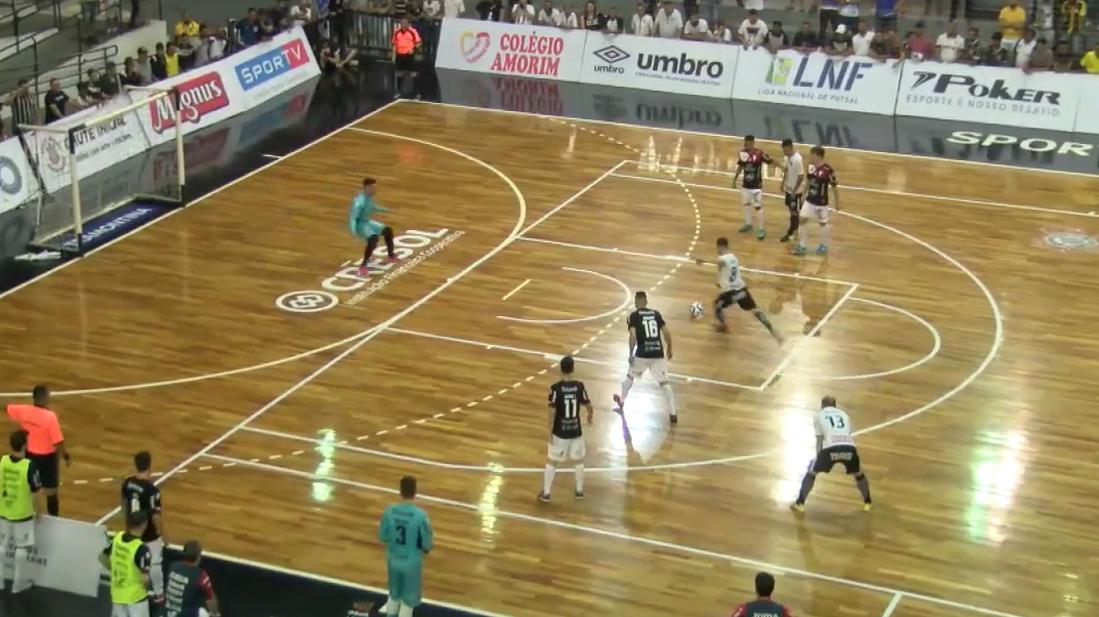 Melhores momentos - Corinthians x Joinville - Liga Nacional de Futsal
