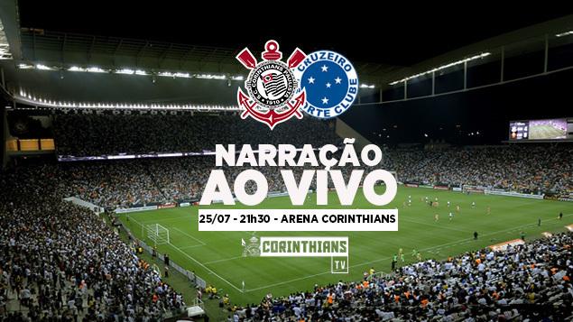 Corinthians Tv Play Narração Corinthians X Cruzeiro