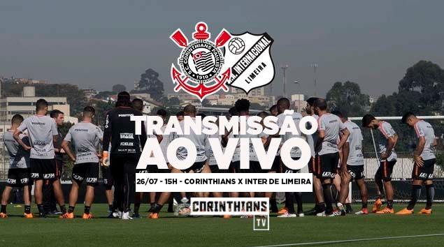 Corinthians x Inter de Limeira - Jogo-treino no CT