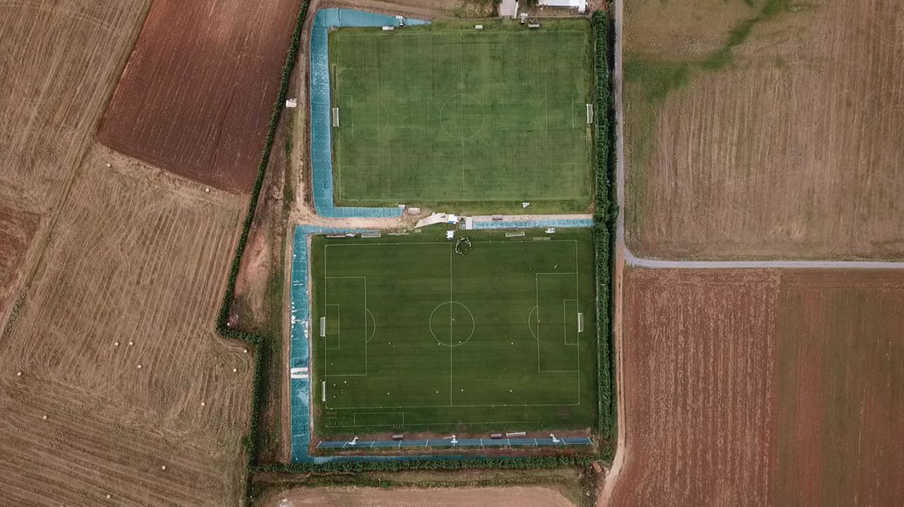 Training seen from above