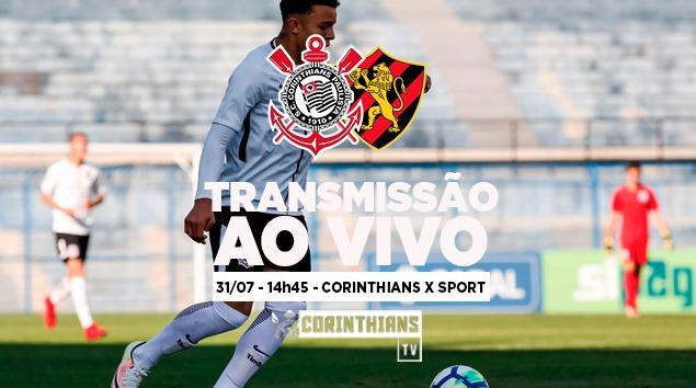 Corinthians x Sport - Brasileirão Sub-20