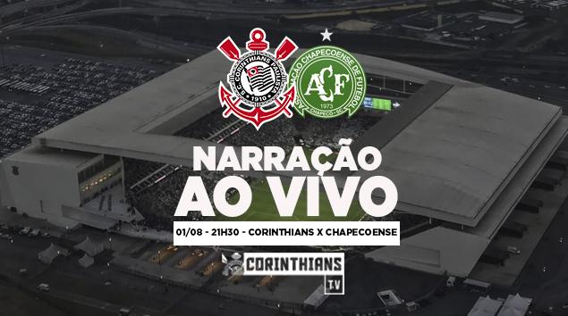 Narração | Corinthians x Chapecoense - Quartas de Final Copa do Brasil