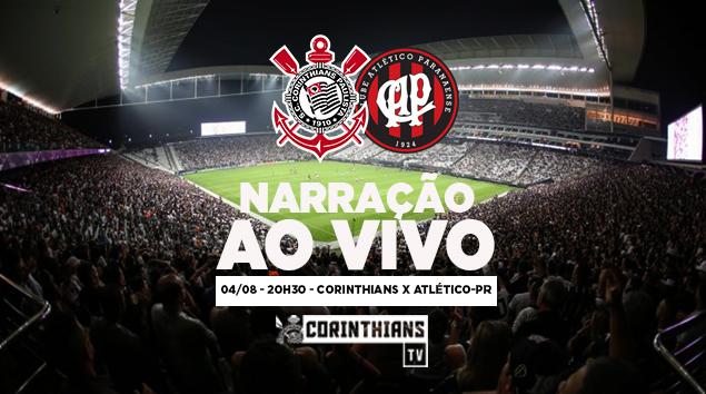 Narração | Corinthians x Atlético-PR - Brasileirão 2018