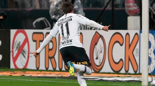 Gol - Corinthians 1x0 Chapecoense - Quartas de Final Copa do Brasil