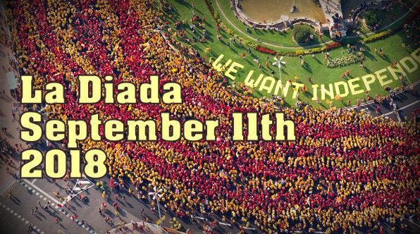 La Diada - Independence Day of Catalunya