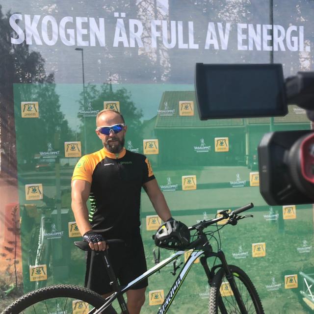 Preemhälsningen – Cykelvasan Söndag