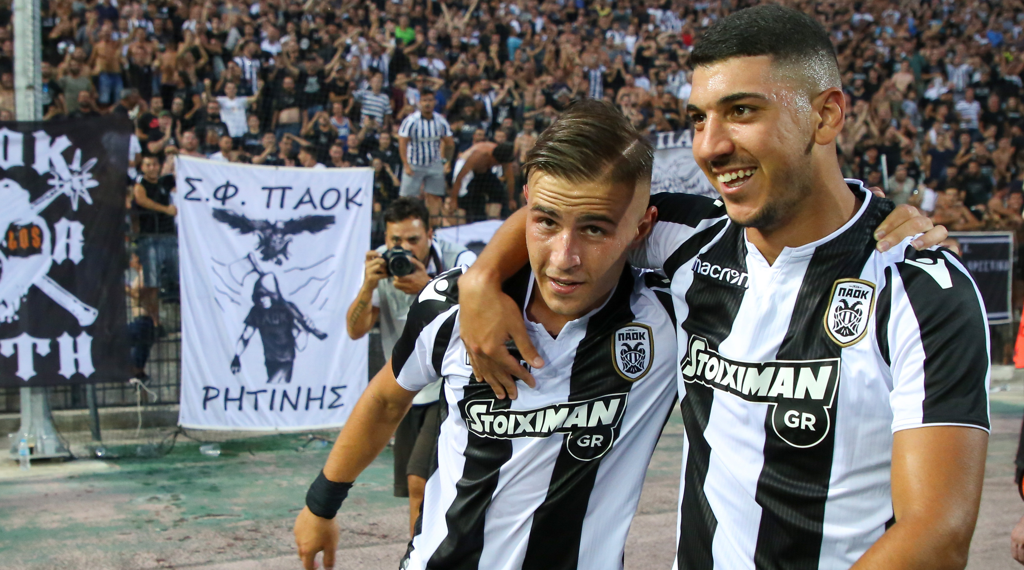 PAOK – FC Spartak Moscow: Backstage camera