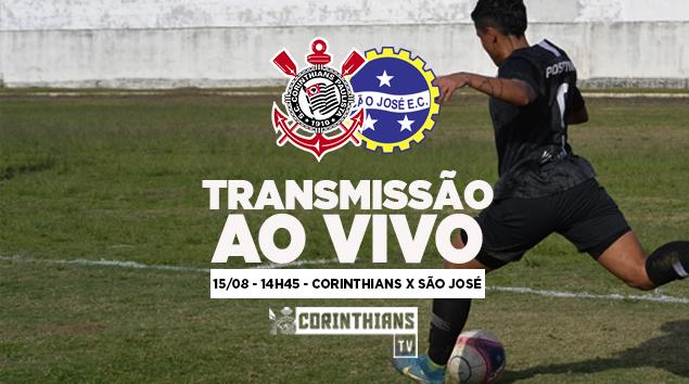 15/08 - 14h45 | AO VIVO - Corinthians x São José - Brasileirão Feminino 2018