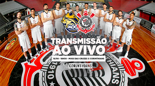 18/08 - 18h50 | Mogi das Cruzes x Corinthians - Paulistão de Basquete