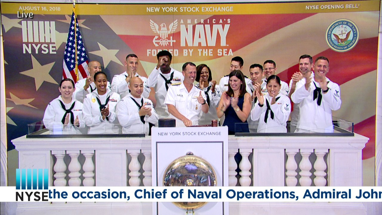 Today, Chief of Naval Operations, Admiral John Richardson