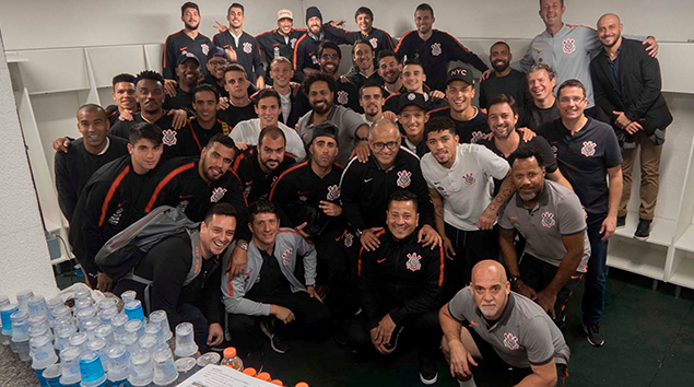 Bastidores - Chapecoense 0x1 Corinthians - Copa do Brasil 2018