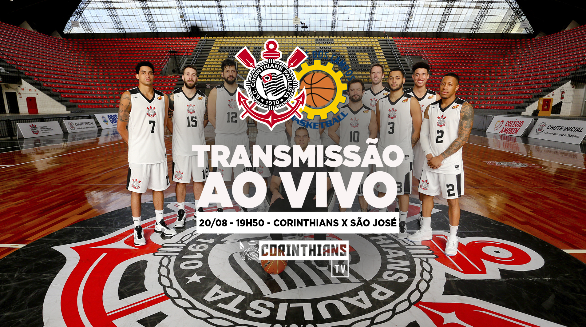 Corinthians x São José - Paulistão de Basquete 2018