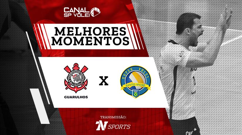 Melhores momentos de Corinthians Guarulhos vs Santo André