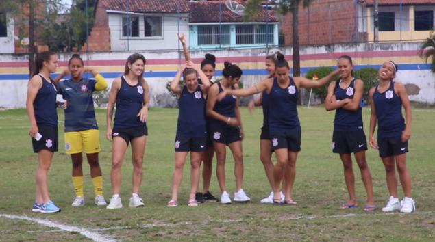 Bastidores - São Francisco 0x0 Corinthians - Brasileirão Feminino 2018