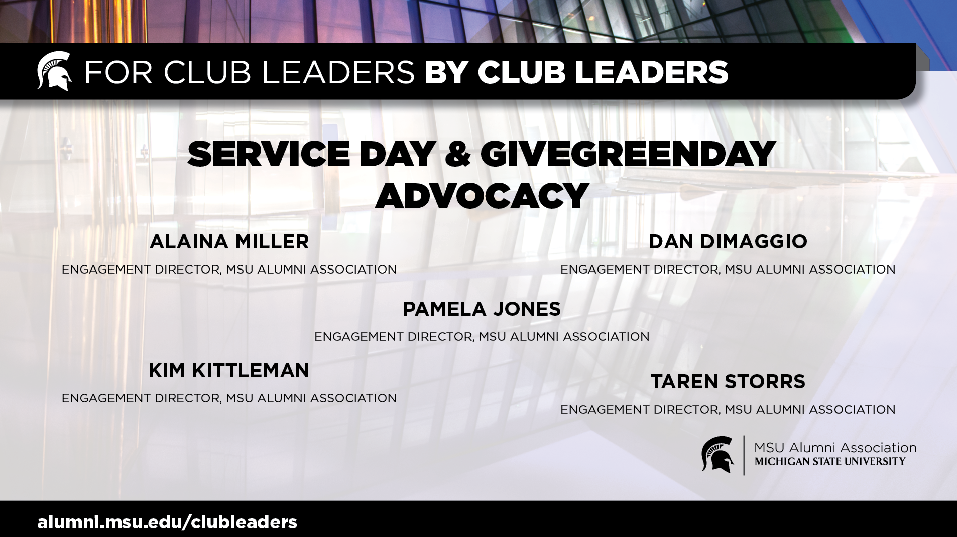 livestream cover image for Service Day/GiveGreenDay Advocacy | Engagement Team