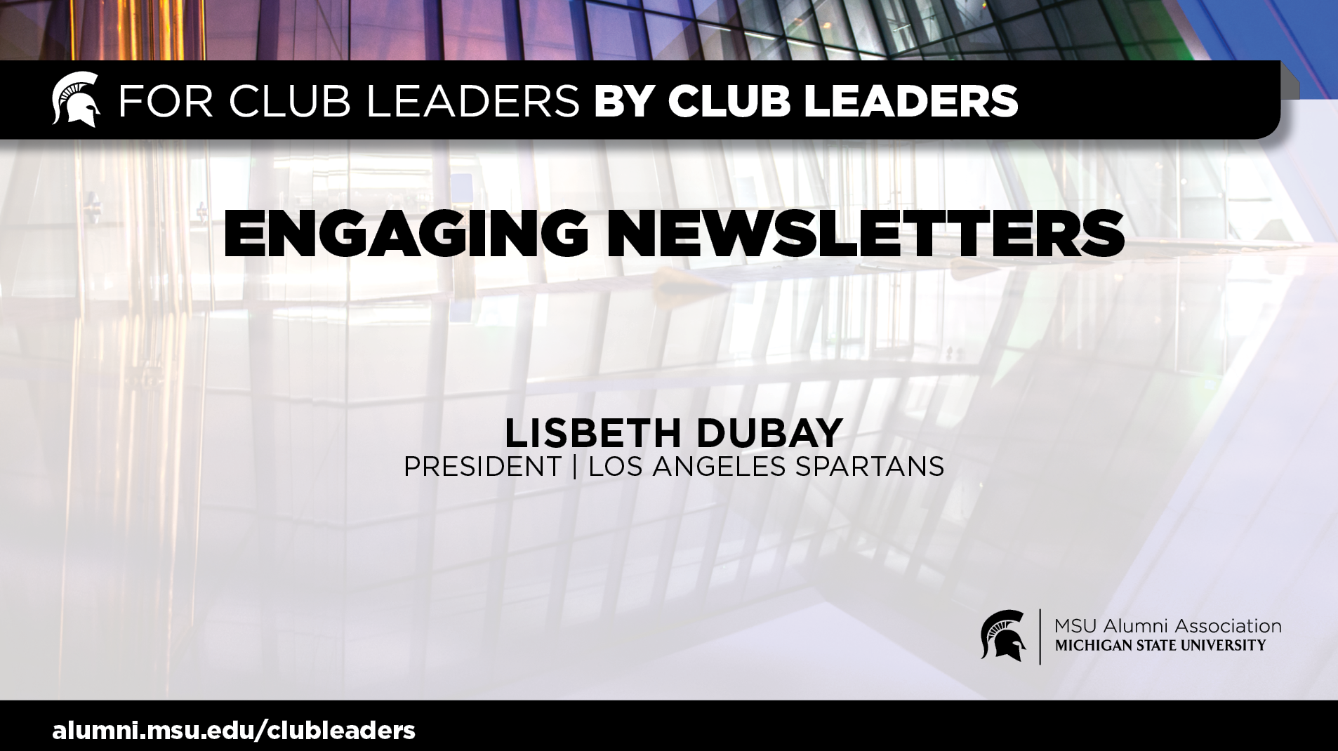 livestream cover image for Engaging Newsletter | Lisbeth Dubay