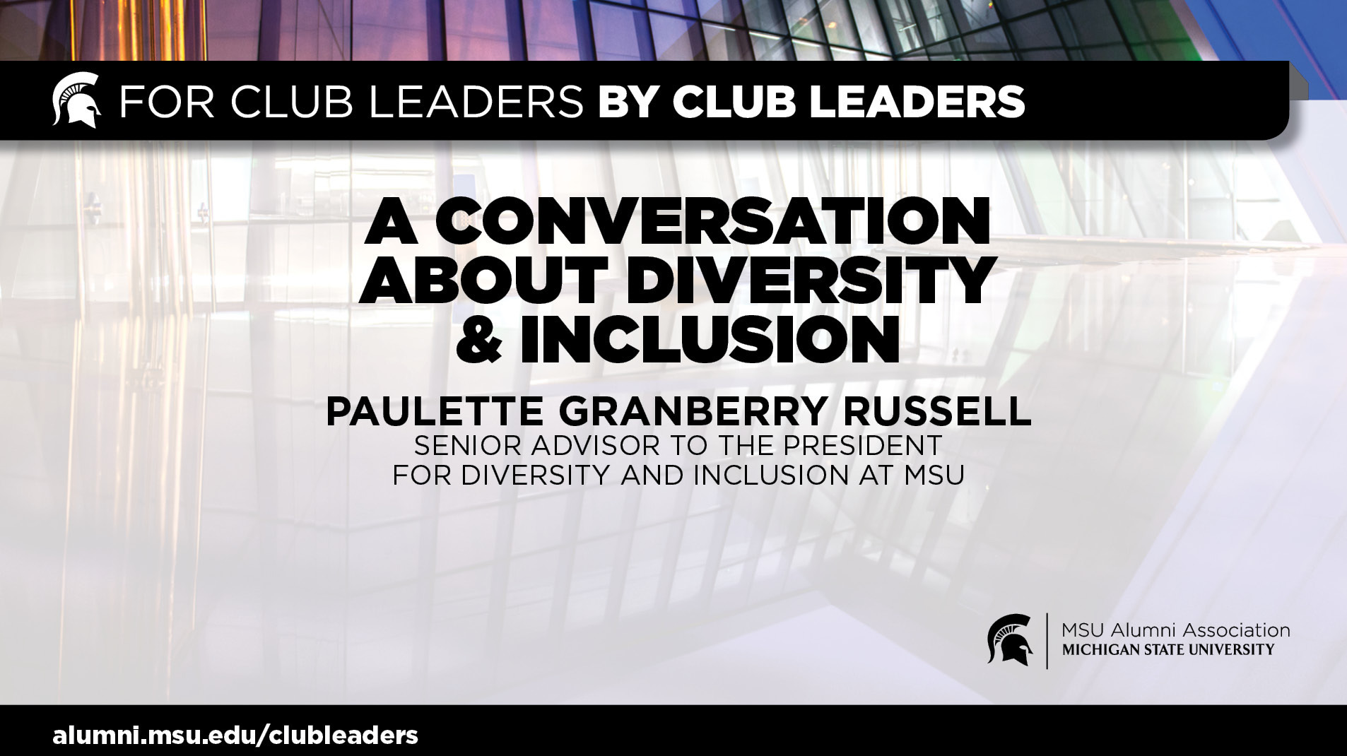 livestream cover image for A Conversation About Diversity & Inclusion | Paulette Granberry Russell