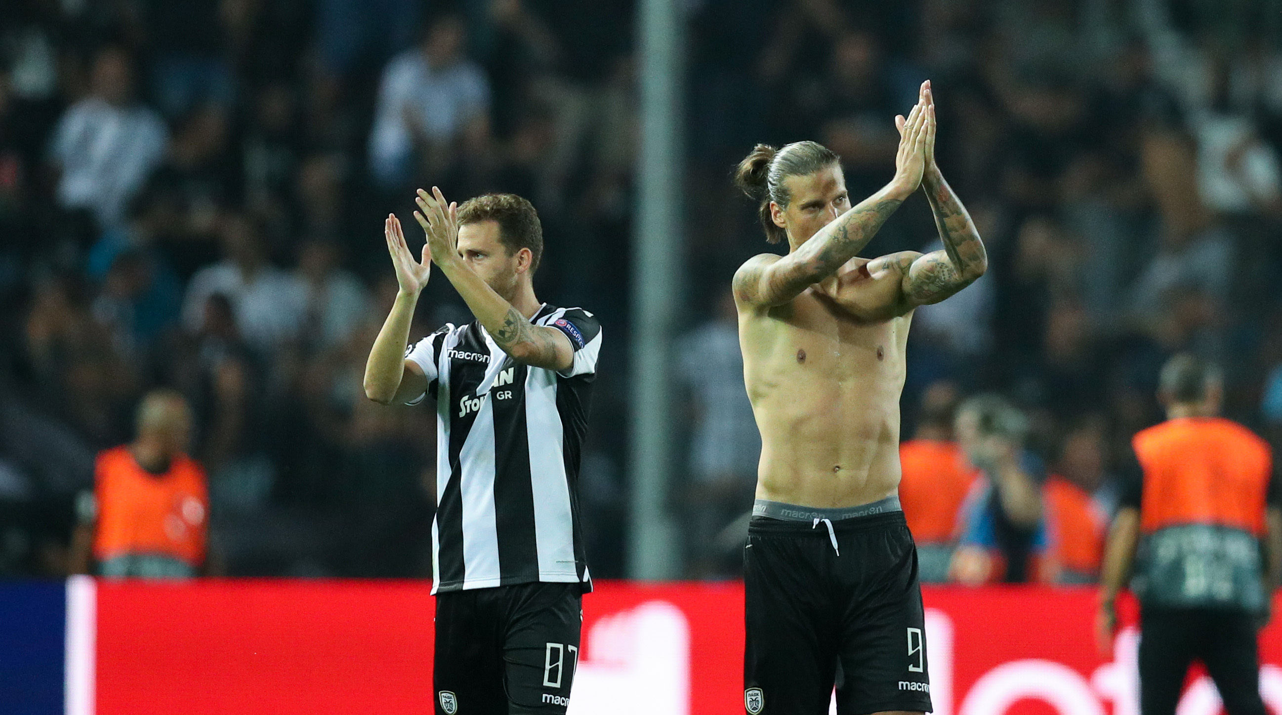 PAOK – SL Benfica: Backstage camera