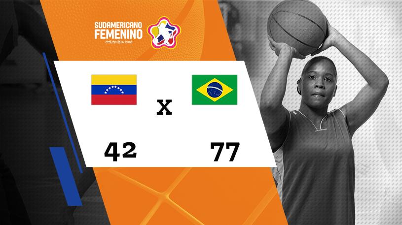 Sulamericano Feminino de Basquete - Grupo A - Venezuela vs Brasil
