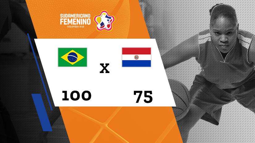 Sulamericano Feminino de Basquete - Grupo A - Brasil vs Paraguai