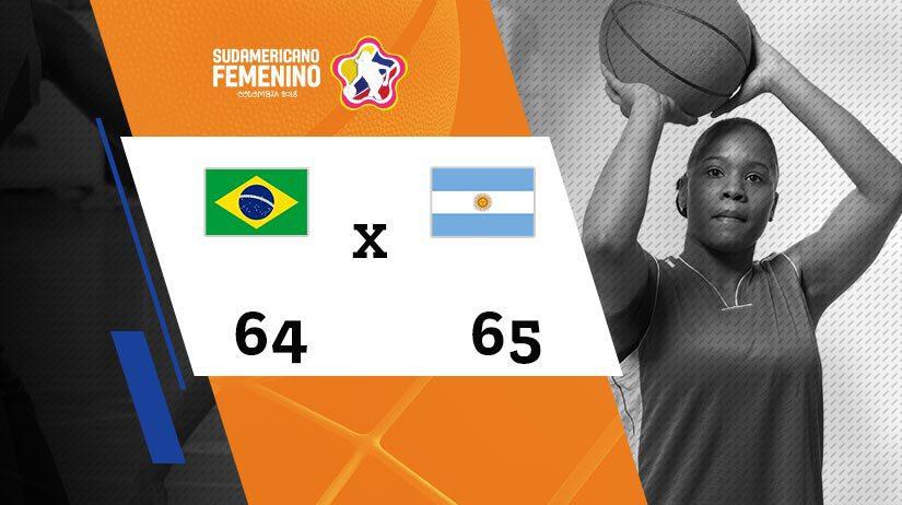 Sulamericano Feminino de Basquete - Final - Brasil vs Argentina