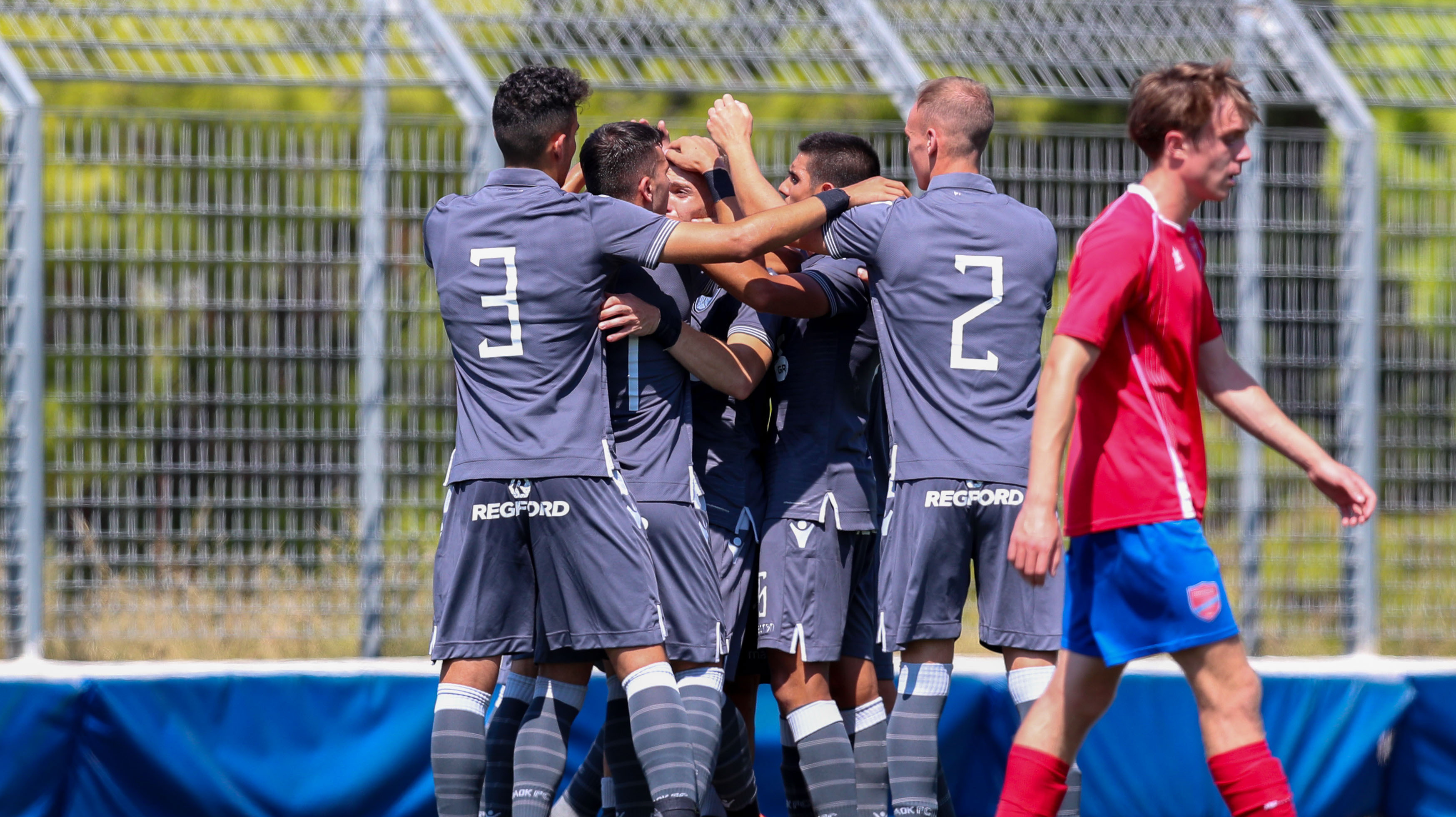 Моменты матча U-19 «Паниониос»-ΠΑΟΚ