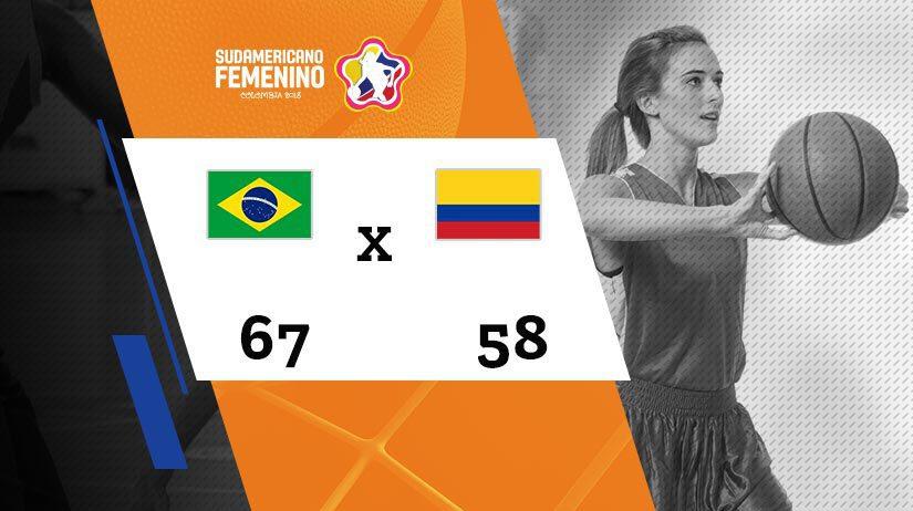 Sulamericano Feminino de Basquete - Semifinal - Brasil vs Colômbia