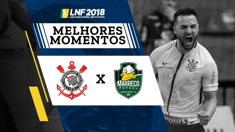 Melhores Momentos de Corinthians vs Marreco