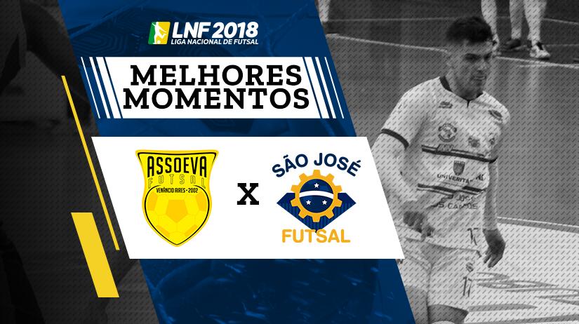 Melhores Momentos de Assoeva vs São José
