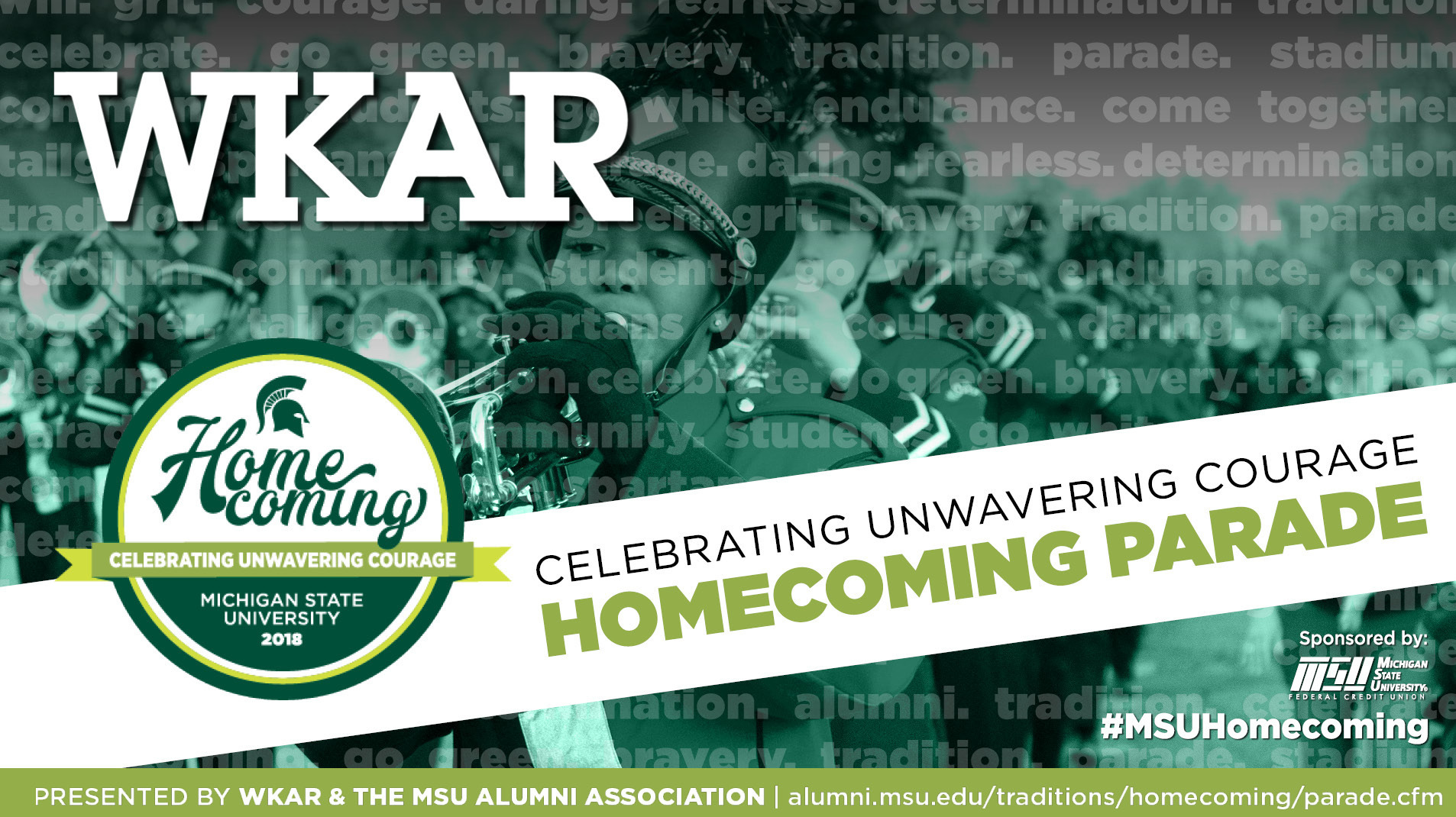 livestream cover image for 2018 MSU Homecoming Parade