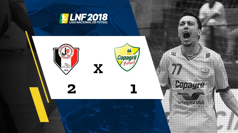 Joinville vs Copagril
