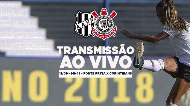 Ponte Preta x Corinthians - Quartas de final Brasileirão Feminino 2018